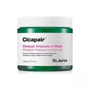 Маска Ночная Успокаивающая С Экстрактом Центеллы Dr.Jart+ Cicapair Sleepair Ampoule-in Mask