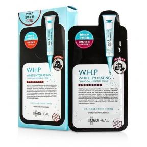 Профессиональная Осветляющая Увлажняющая Маска Mediheal W.H.P White Hydrating Black Mask EX.