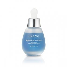 Сыворотка осветляющая с маслом зеленого чая Urang Brightening Blue Oil Serum 30ml