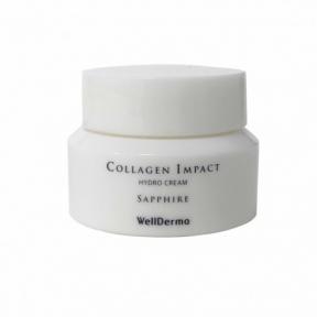 Крем для лица с коллагеном WellDerma Sapphire Collagen Impact Hydro Cream mine (10g)