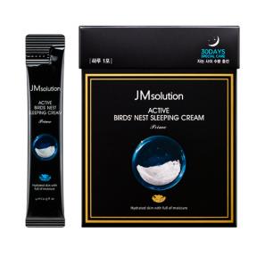 Крем ночной увлажняющий с экстрактом ласточкиного гнезда JM Solution Active Bird's Nest Sleeping Cream 4 ml