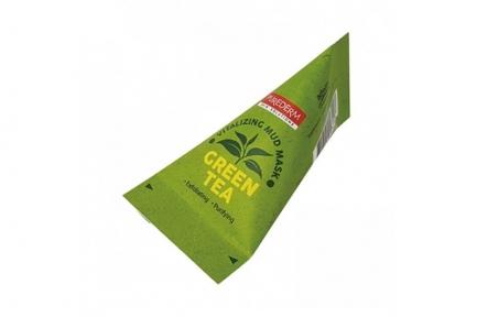 Маска на основе глины с увлажняющим и освежающим эффектом Green Tea Vitalizing Facial Mud Mask PUREDERM 20ml