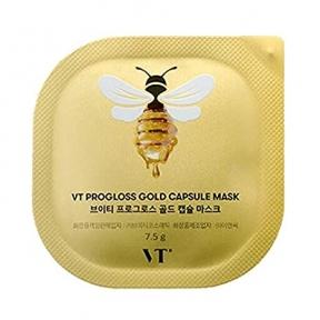 Капсульная маска с экстрактом меда и золота, идебеноном VT COSMETICS VT PROGLOSS CAPSULE MASK 7.5g