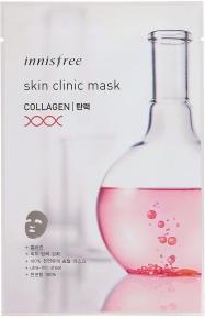 Маска С Коллагеном Омолаживающая Innisfree Skin Clinic Mask Collagen
