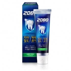 Зубная паста с экстрактом перечной мяты 2080 Power Shield Green Peppermint 120g