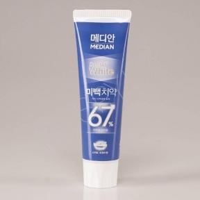 Зубная Паста Отбеливающая С Экстрактом Мяты Median Dental White Fruity 100g (синяя упаковка)