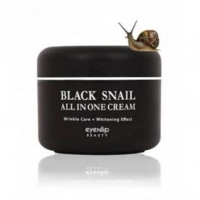 Крем многофункциональный с экстрактом черной улитки для лица Eyenlip Black Snail All In One Cream