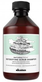 Шампунь-скраб для волос детоксицирующий Davines Detoxifying Shampoo 100ml