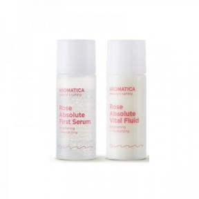 Набор для лица Aromatica Rose Absolute Duo Serum & Fluid (2 в 1) 8ml+8ml