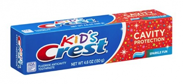 Зубная паста детская Crest Kid's Cavity Protection Sparkle Fun 130g