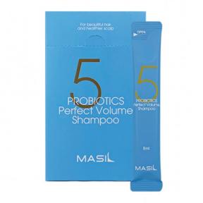 Шампунь с пробиотиками для идеального объема волос Masil 5 Probiotics Perfect Volume Shampoo 8ml