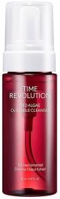 Пена для умывания кислородная омолаживающая с экстрактом мха Missha Time Revolution Red Algae O2 Bubble Cleanser 150ml