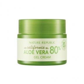 Крем Увлажняющий С Экстрактом Калифорнийского Алое Nature Republic California Aloe Vera 80% Gel Cream