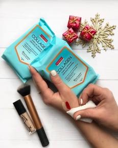 Салфетки Для Снятия Макияжа Восстанавливающие С Коллагеном Purederm Collagen Make-up Remover Cleansing Towelettes