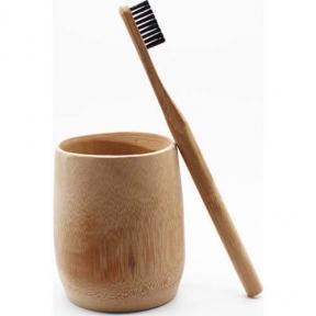 Зубная Щетка Из Экологически Чистого Бамбука EcoPanda