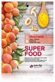 Маска тканевая для лица с экстрактом персика Eyenlip Super Food Peach Mask 23ml