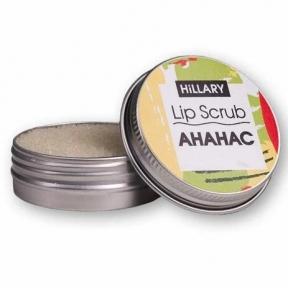 Скраб для губ с экстрактом ананаса Hillary Lip Scrub Pineapple, 30 g