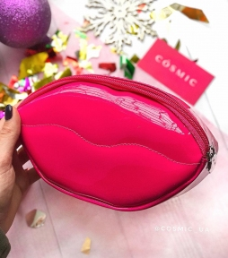 Косметичка Ottie Lip Shape Cosmetic Pouch [Pink]  21*12*4,5 см