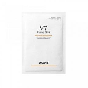 Маска Тонизирующая Омолаживающая С Белым Нефритом Dr. Jart+ V7 Toning Mask Lightening Whitening Skin