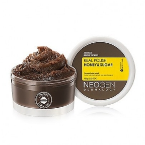 Скраб для лица с мёдом и сахаром Neogen Dermalogy Real Polish Honey & Sugar 100g