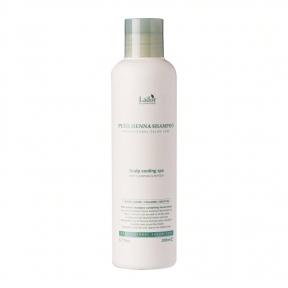 Органический Шампунь С Ментолом И Бесцветной Хной La'dor Pure Henna Shampoo 200ml