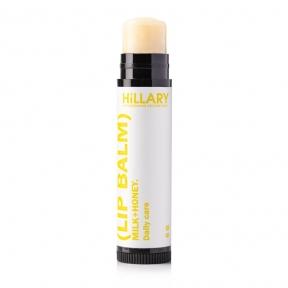 Бальзам для губ Молоко + Мед Hillary Lip Balm Milk + Honey Daily Care, 5g