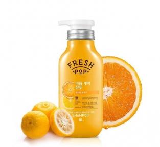 Укрепляющий кондиционер для волос Fresh Pop Mandarine & Yuzu Conditioner 500ml