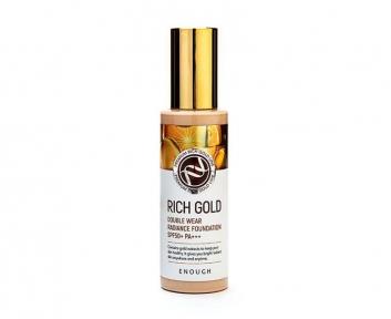 Тональная Основа Омолаживающая С Золотом Enough Rich Gold Double Wear Radiance Foundation #13 SPF50+ PA+ 100 ml