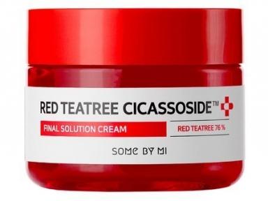 Крем успокаивающий с экстрактом красного чайного дерева для лица Some By Mi Red Teatree Cicassoside Final Solution Cream 60ml