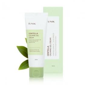 Крем-гель для чувствительной кожи лечащий интенсивно успокаивающий с экстрактом центеллы IUNIK Centella Calming Gel Cream 60ml