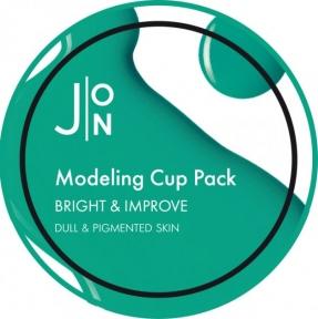 Альгинатная маска для тусклой и пигментированной кожи лица J:ON Modeling Pack Bright & Improve