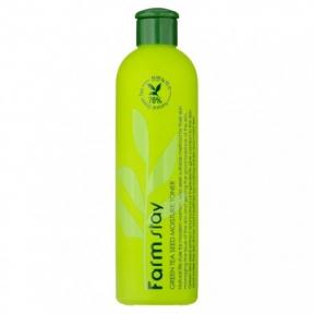 Тонер успокаивающий с экстрактом зеленого чая Farmstay Green Tea Seed Moisture Toner 300ml