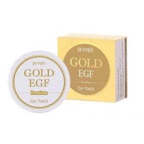 Патчи Гидрогелевые C Коллоидным Золотом И Эпидермальным Фактором Роста Petitfee GOLD Premium EGF Eye Patch