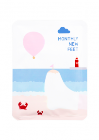 Маска-носки для педикюра с маслом апельсина Pack Age Monthly New Feet Socks Pack 25ml