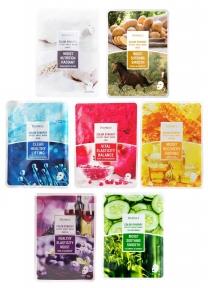 Набор Из 7 Масок Восстановление Питание Увлажнение Серия Deoproce Color Synergy Effect Sheet Mask