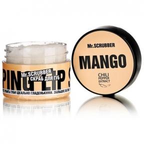 Скраб сахарный для губ «Манго» Mr.Scrubber Wow Lips Mango, 35ml