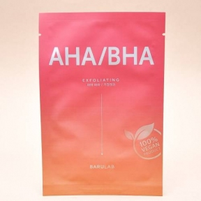 Маска Веганская С Натуральными Кислотами Barulab The Clean Vegan AHA/BHA Mask 23 г