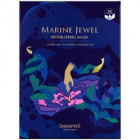 Маска увлажняющая для лица  с морскими водорослями и жемчугом MARINE JEWEL HYDRATING MASK SHANGPREE 30ml