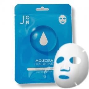 Маска тканевая для лица с гиалуроновой кислотой J:ON Molecula Hyaluronic Daily Essence Mask 23ml