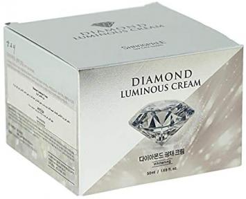 Крем для лица осветляющий с алмазной пудрой и отбеливающим комплексом DIAMOND LUMINOUS CREAM SHANGPREE 50ml