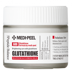 Крем для лица осветляющий с глутатионом Medi Peel Bio Intense Glutathione White Cream 50ml