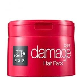 Маска восстанавливающая с молочной кислотой для поврежденных волос Mise En Scene Damage Care Hair Pack 150ml